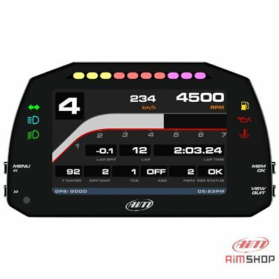 Aim MXS Strada 1.2 Car / Motorbike Bike Road Icons TFT Dash Display CAN Harness • 900£
