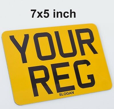 7x5 Small Motorcycle Bike Show Style Fun Novelty Sign -  PLATE SELLER • 10.49£
