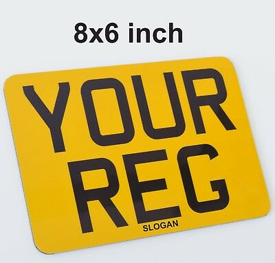 Novelty Fun 8x6 Small Motorcycle Bike Show Sign - Number 1 -  PLATE SELLER • 10.49£