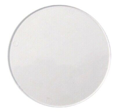 Tax Disc Holder Replacement Round Perspex Glass, Each • 3£