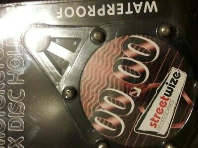 Motorcycle Tax Disc Holder • 1£