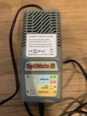 Optimate 3 SP Motorcycle Battery Charger • 11.70£