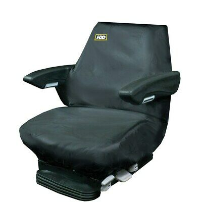 HDD Tractor Seat Cover Large Black - 93 X 60CM • 23.16£