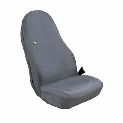 HDD Tractor Seat Cover Hi-back Black - 80 X 50CM • 33.85£