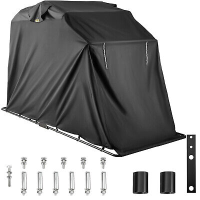 Motorcycle Cover Scooter Shelter Motorbike Tent Outdoor Storage Cycle • 119.57£