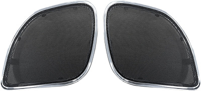 Hogtunes Replacement Speaker Grills 2015-2017 Harley Road Glides Rg Rm Grill-c • 59.91£