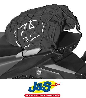 Oxford Boss Bright Net Black Reflective Cargo Net Motorbike Motorcycle Luggage • 9.99£