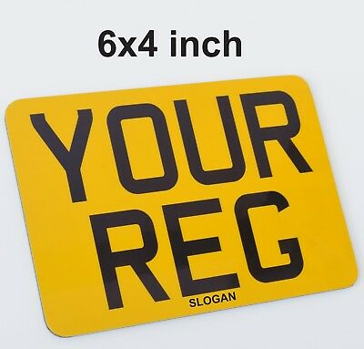 6x4 Small Motorcycle Bike Show Style Fun Novelty Sign -  PLATE SELLER • 10.49£