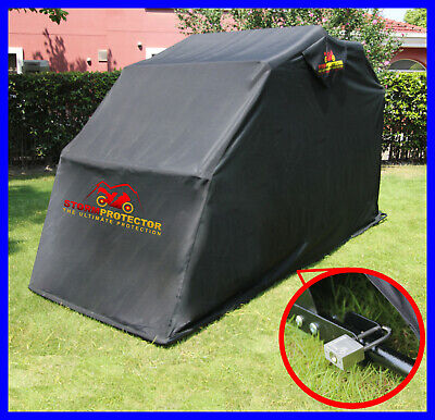 Large Waterproof Motorcycle Motorbike Bike Scooter Cover Covers Shelter Garage • 144.99£