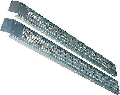 Rolson 42700 9 X 72 Inches Steel Loading Ramp Set - 2 Pieces • 55£