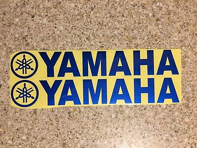 Yamaha Decals Blue Reflective Stickers Graphics Dtr Ttr Wrf Banshee Yz • 2.99£