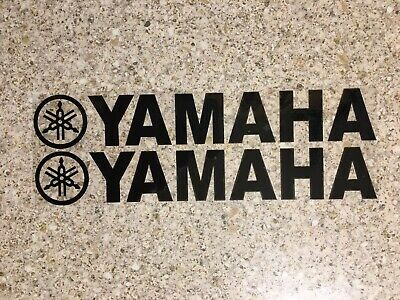 Yamaha Decals Black Stickers Graphics Dtr Ttr Wrf Banshee Yz • 2.99£