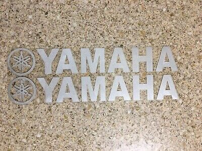 Yamaha Decals Silver Reflective Stickers Graphics Dtr Ttr Wrf Banshee Yz • 2.99£