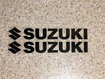 Suzuki Decals Black Stickers Graphics Drz Rm Rmz Ts • 2.99£