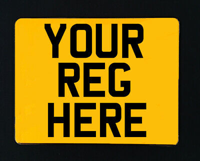 Motorcycle Number Plates - Road & MOT Legal - Free Fixings! • 11.95£