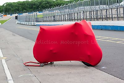 Ducati Panigale V2 Super Soft Stretch Indoor Bike Cover Breathable Red • 69.99£