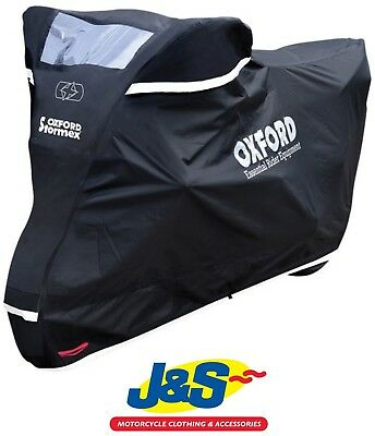 Oxford STORMEX Motorbike Motorcycle Outdoor Cover Medium CV331 Waterproof M J&S • 54.89£