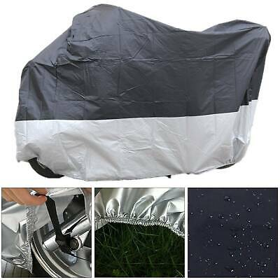 M Size Waterproof Outdoor Motorbike Cover Black Practical Motorbike Rain Cover • 6.99£