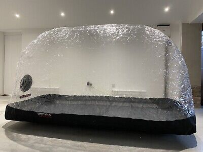 Vehicle Dome Medium Indoor Motorcycle Inflatable Air Bubble Cover Storage System • 130£