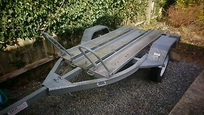 Twin Motorcycle Trailer • 210£