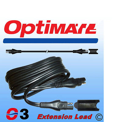 Genuine Optimate Battery Charger SAE Extension Lead 1.8 Metres SAE63 New • 9.99£