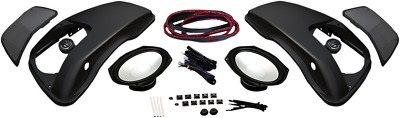 Hogtunes Speaker Lid Kit W/6 X9  Speakers For 1998-2013 Harley Touring 692lid-rm • 337.17£