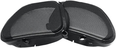 Hogtunes Replacement Front Speaker Grills 1998-2013 Harley Road Glides 57 Mesh • 29.94£