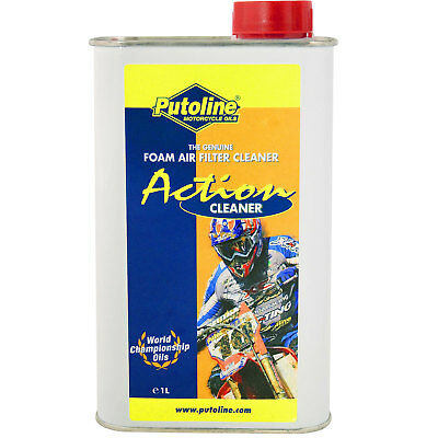 Putoline Action Fluid Cleaner Motorcycle Foam Air Filter 1 Litre • 10.99£