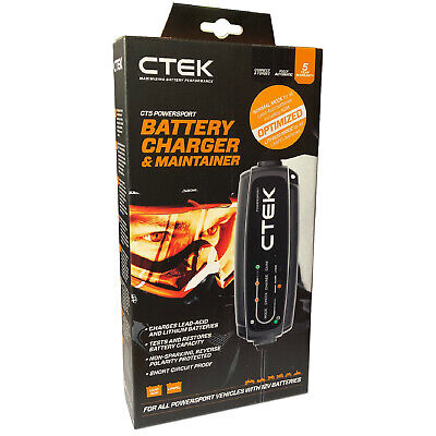CTEK CT5 Powersport Smart Lithium Battery Charger & Maintainer 12v • 73.50£