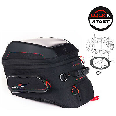 SUZUKI V-Storm 1050 XT 2020 XSR240 Bagster Tank Bag Adv 27L & Lock Start Kit • 149.99£