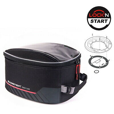 Triumph Street Triple 765 R 2018 XSR200 Bagster Tank Bag D-Line Power & Lock Kit • 69.99£