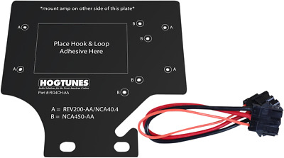 Hogtunes Amp Adapter Mount Kit For 1998-2013 Harley Davidson Road Glide Rg4ch-aa • 29.94£