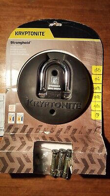 Kryptonite Cycle Bike Stronghold Ground Anchor Gold Sold Secure  • 60£