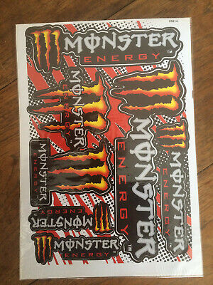 Car Motorcycle Skateboard Stickers Monster Energy • 3.99£
