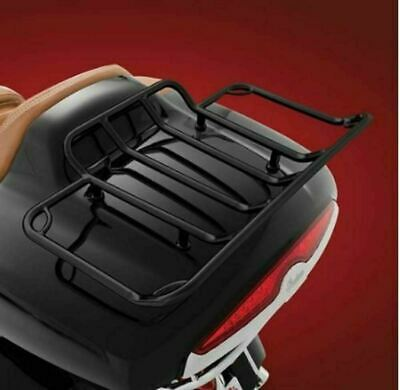 Black Tour Trunk Rack For Indian 2014–Newer Springfield Chieftain Roadmaster • 98.37£
