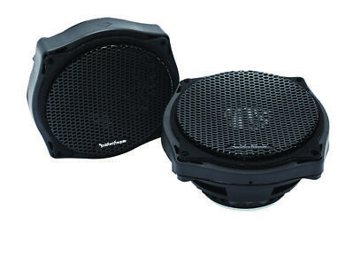 Rockford Fosgate TMS6SG Power 6.5  Full Range Batwing Fairing Speakers 98-13 • 239.78£
