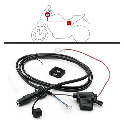 Givi Universal Cable Kit S110 With 12v Battery Socket Connector Outlet • 22£