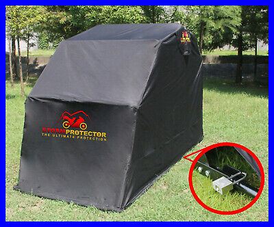 Extra Large Waterproof Motorcycle Motorbike Bike Scooter Cover Covers Shelter • 194.99£