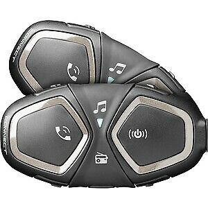 Interphone Connect Motorcycle Intercom Twin Pack • 183.99£