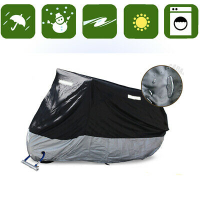 Waterproof Motorcycle Cover For Motorbike Standard Street Bikes Scooter KMBS2 • 12.99£