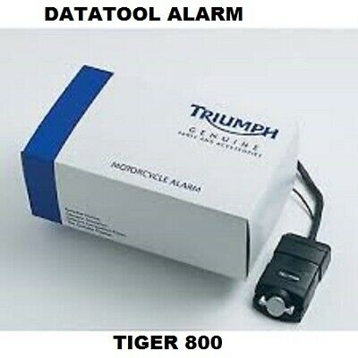 A9808099. GENUINE TRIUMPH DATATOOL ALARM. TIGER 800 Up To Vin Number 674841 • 85.50£