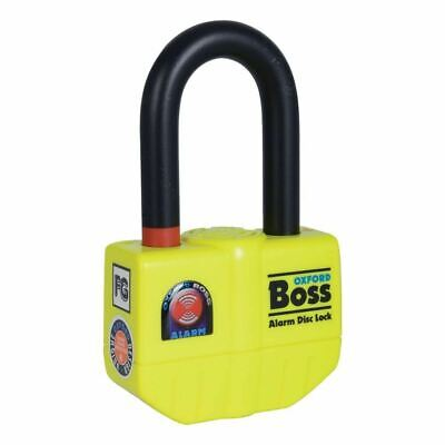 Oxford Boss Alarm 14mm Disc Ultra Strong Disc Lock Of3 • 53.99£