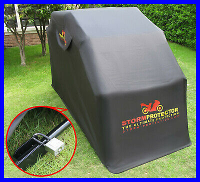 Waterproof Motorcycle Motorbike Bike Outdoor Scooter Cover Covers Shelter Garage • 134.99£