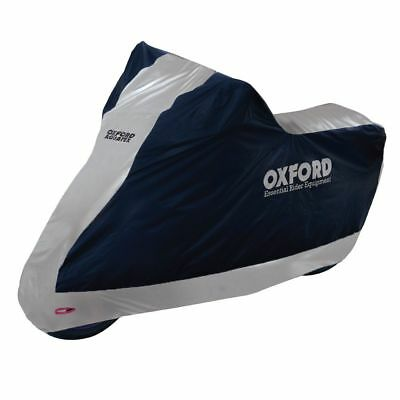 Oxford Aquatex WATERPROOF MOTORCYCLE BIKE COVER Large - CV204 • 21.88£