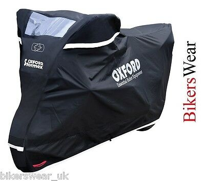 Oxford Stormex Ultimate Weather Motorcycle Bike Rain Outdoor Cover Large • 58.39£