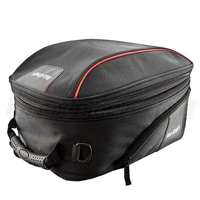 LEXTEK Motorcycle Expandable Magnetic TANK BAG Pack 28 Litre Bike Luggage • 42.95£