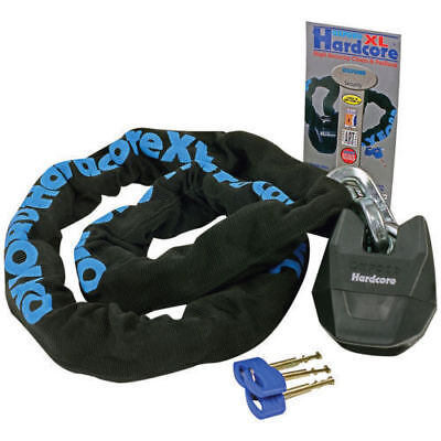 Oxford Hardcore XL 1.5 M Motorbike Motorcycle Security Chain Lock (Thatcham) • 58.99£