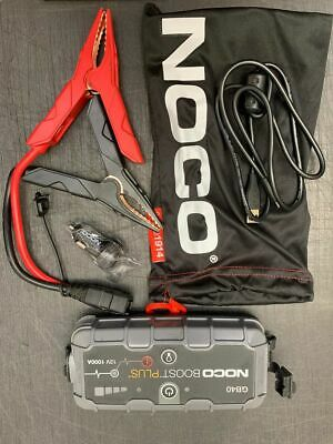 Noco GB40 1000A Lithium Jump Starter  Car Boost Plus Ultra Safe  - Fast Shipping • 79£