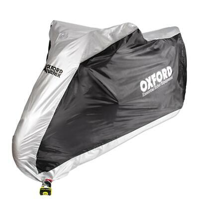 Oxford Aquatex Motorcycle Waterproof Outdoor Cover Small Motorbike Scooter New • 19.44£
