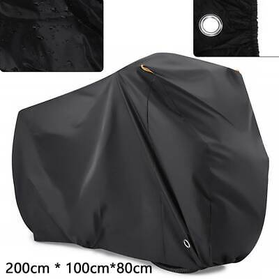 Motorcycle Cover Waterproof Outdoor Bike Scooter Dust Rain Cover Heavy Duty XL • 10.45£
